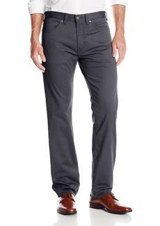Dockers Men's 5 Pocket Straight Fit Flat Front Stretch Sateen Pant Stretch Sateen Asphalt 32Wx32L