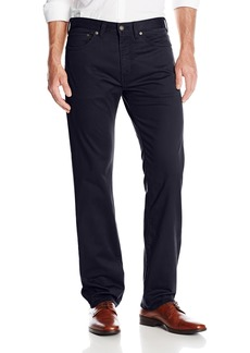 Dockers Men's 5 Pocket Straight Fit Flat Front Stretch Sateen Pant Stretch Sateen Dockers Blue 29Wx30L