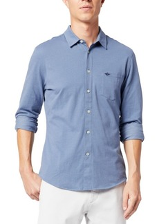 Dockers Men's Alpha 360 Slim-Fit Stretch Shirt