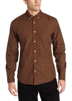 Dockers Men's Alpha Button Down Collar Laundered Shirt