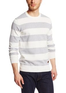Dockers Men's Alpha Fitted Long Sleeve Sweater Lance/Spring Grey Heather - discontinued
