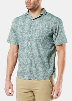 Dockers Men's Alpha Icon Camp Collar Shirt