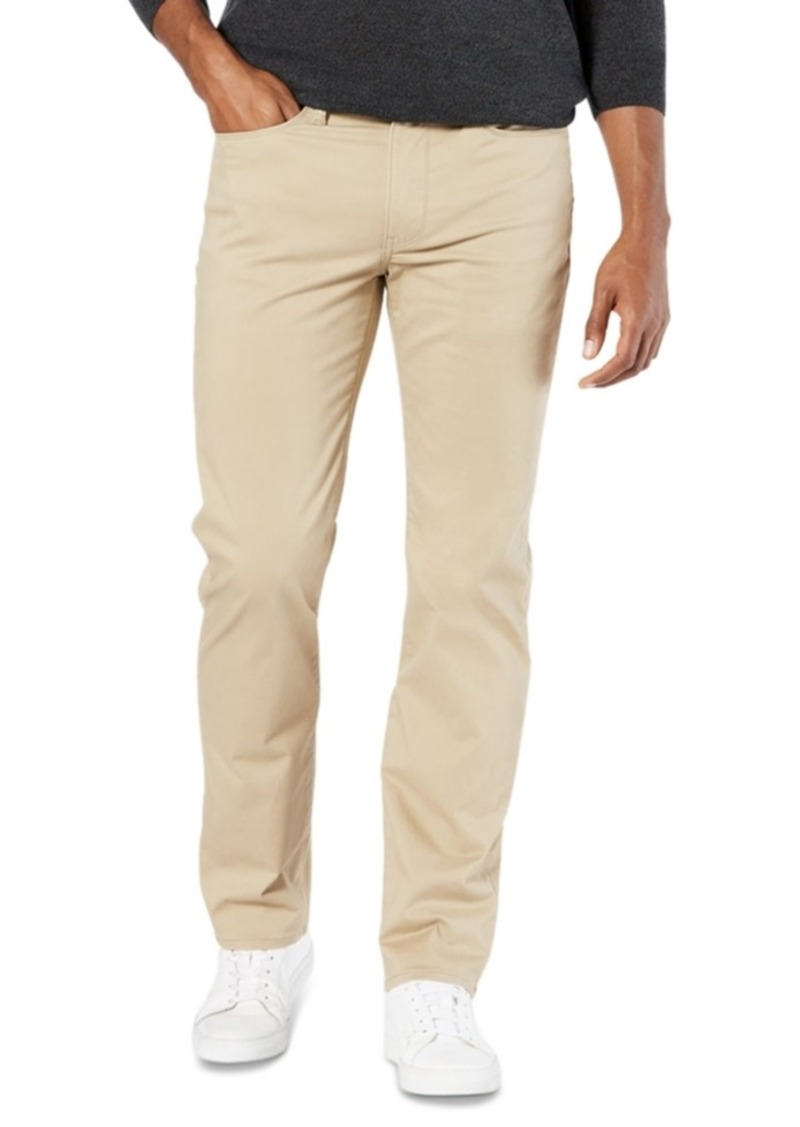 Dockers Men's Jean-Cut Supreme Flex Straight Fit Pants, Created for Macy's