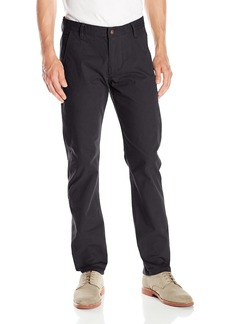 Dockers Men's Alpha Khaki Slim Flat-Front Pant Black Corduroy - discontinued