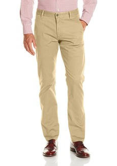 Dockers Men's Alpha Khaki Slim Tapered Flat Front Pant  32x32