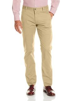 Dockers Men's Alpha Khaki Stretch Slim Tapered Fit Flat Front Pant New British