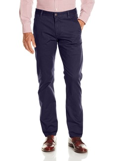 Dockers Men's Alpha Khaki Stretch Slim Tapered Fit Flat Front Pant Pembroke (Stretch)-discontinued