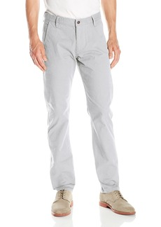 Dockers Men's Alpha Khaki Slim Flat-Front Pant Grisaille/Stretch - discontinued