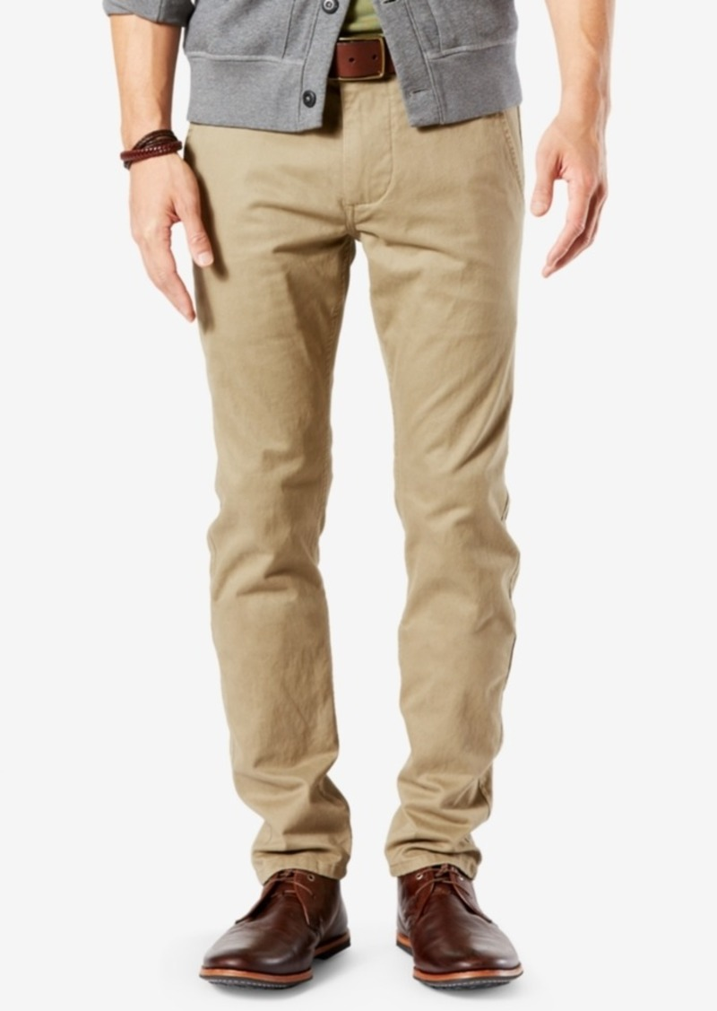 buying now purchase original outlet on sale Dockers Dockers Men's Stretch Original Skinny Fit Alpha Khaki Pants |  Casual Pants