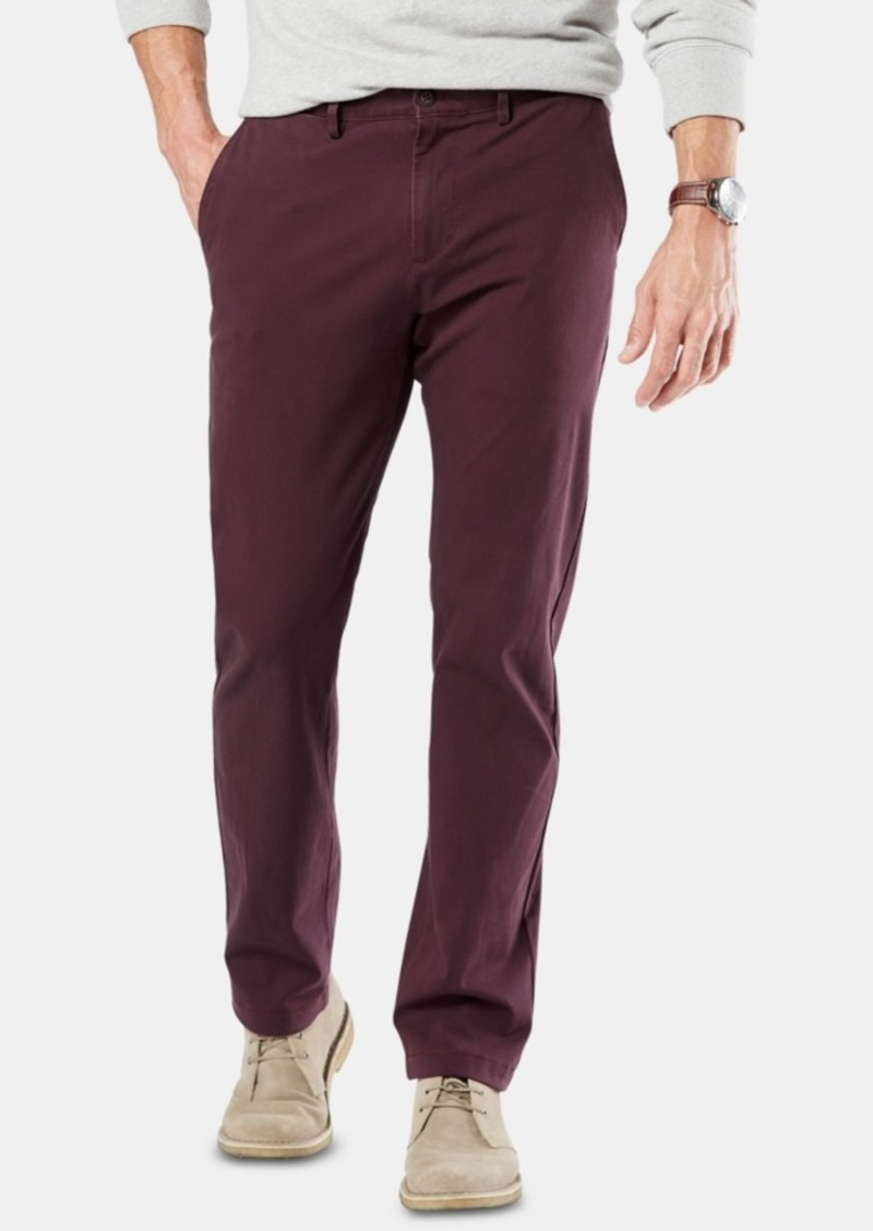 Dockers Men's Alpha Smart 360 Flex Slim Fit Chinos