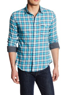 Dockers Men's Alpha Wrinkle Twill Fitted Long Sleeve Shirt