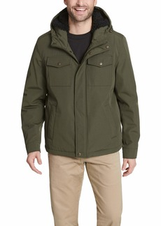 Dockers Men's Arctic Cloth Sherpa Storm Jacket