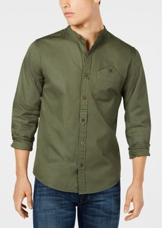 Dockers Men's Band Collar Shirt
