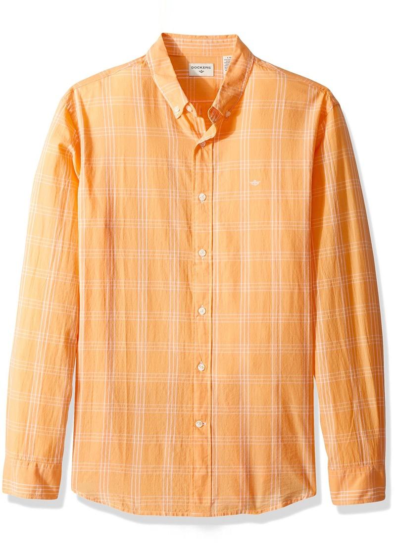 36b12eec00c Men s Beached Poplin Long Sleeve Button-Front Shirt. Dockers.  34.45   23.08. from Amazon Fashion
