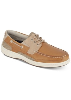 Dockers Men's Beacon Leather Casual Boat Shoe with NeverWet Men's Shoes
