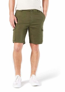 Dockers Men's Big & Tall Classic Fit Cargo Short Olive W