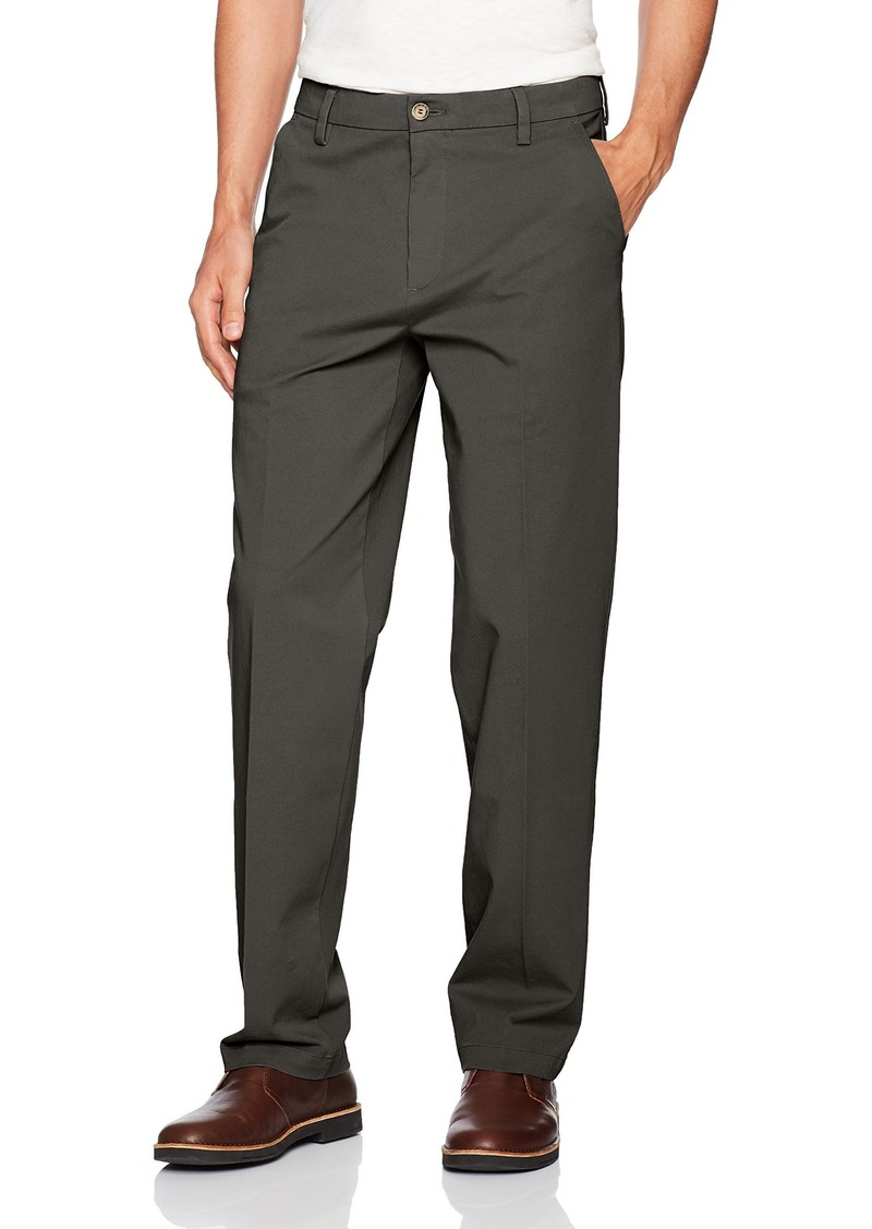 Dockers Men's Big and Tall Big & Tall Classic Fit Workday Khaki Smart 360 Flex Pants D3 Storm (Stretch) -Grey