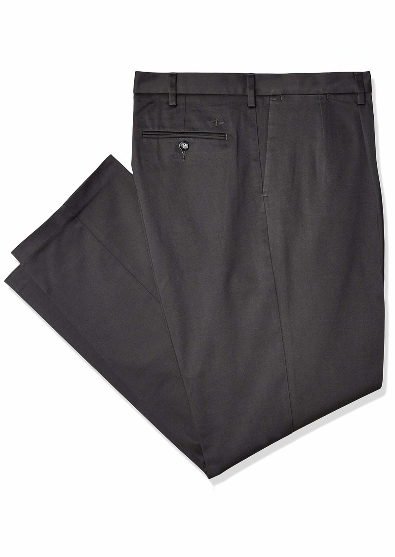 Dockers Men's Big & Tall Superior Trouser D3-Pleated