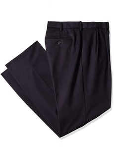 Dockers Men's Big and Tall Classic Fit Easy Khaki Pants-Pleated Navy (Stretch)