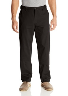 Dockers Men's Big and Tall Easy Khaki Comfort Waist Classic-Fit Flat-Front Pant Black - discontinued