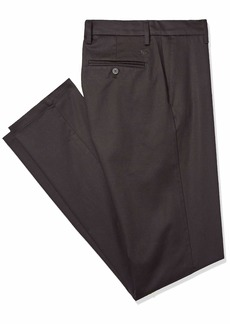 Dockers Men's Big and Tall Modern Tapered Fit Signature Khaki Lux Cotton Stretch Pants  Black 42 36