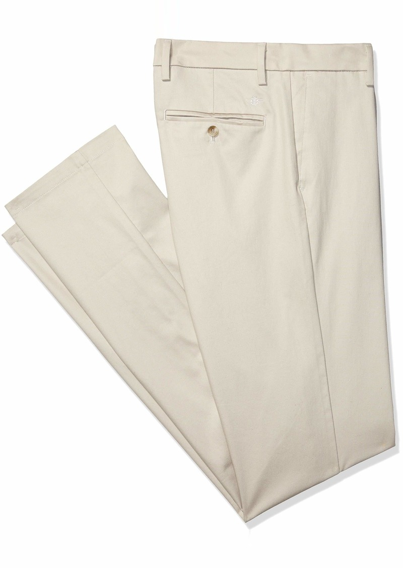 Dockers Men's Big and Tall Modern Tapered Fit Signature Khaki Lux Cotton Stretch Pants  Cloud 54 30