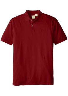 Dockers Men's Big and Tall Short Sleeve Washed Pique Polo with Dockers Logo  3X-Large Tall