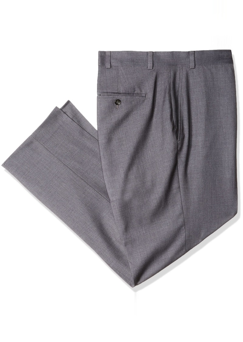 Dockers Men's Big and Tall Stretch Suit Separate Pant mid Gray 42X30