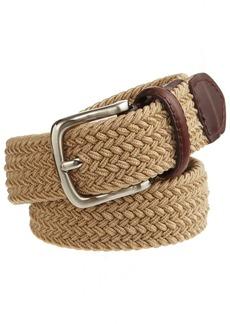 Dockers Men's Big Boys' Braided Elastic-Web Stretch Belt