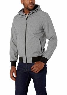 Dockers Men's Chase Performance Soft Shell Hooded Bomber Jacket (Standard & Big-Tall Sizes)   Big