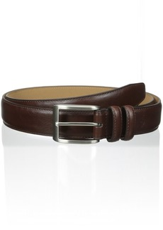 Dockers Men's Big-Tall 1 3/8 in. Feather with Logo Stitch Belt