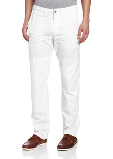 Dockers Men's Bridge Sailmaker Khaki Slim Cargo Flat Front Pant White Wash - discontinued