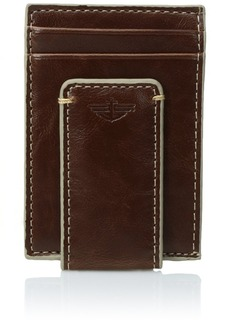 Dockers  Men's  Front Pocket Wallet with Money ClipTan