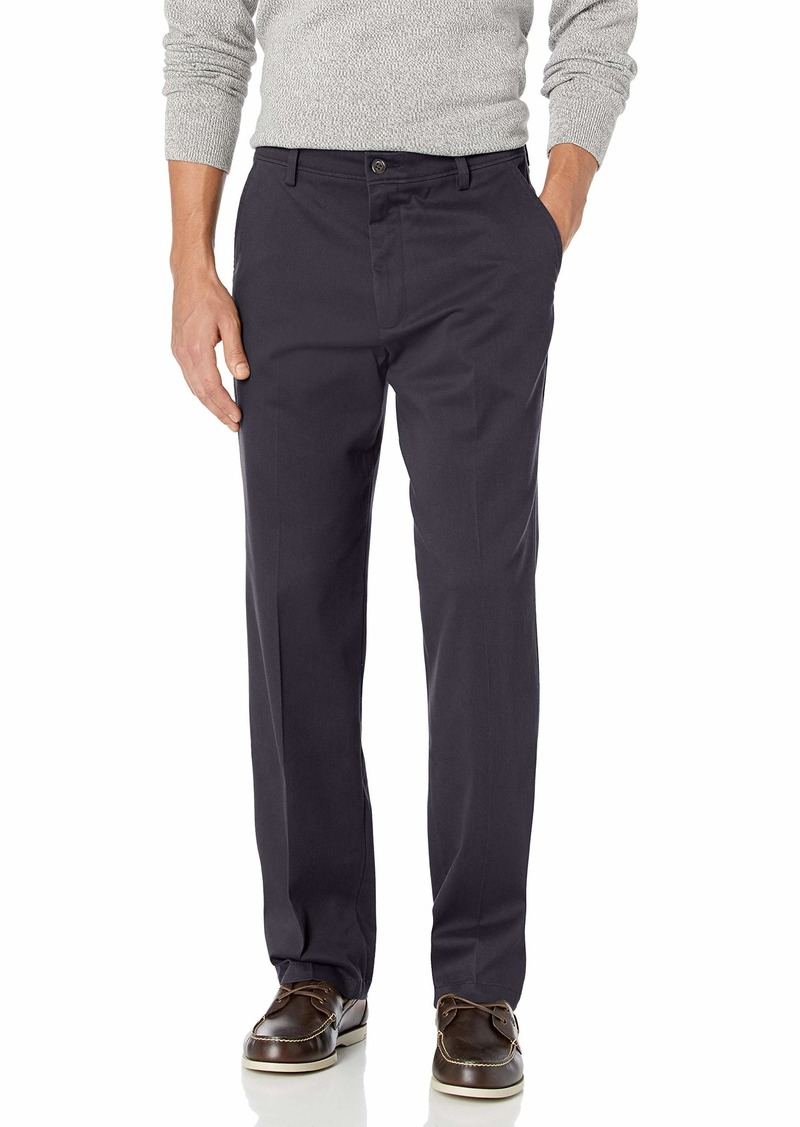 Dockers Men's Classic Fit Easy Khaki Pants (Regular and Big & Tall) Navy (Stretch)
