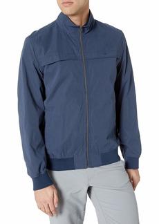 Dockers Men's Clayton Microtwill Golf Bomber Jacket