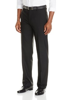 Dockers Men's Club Prostyle Straight Fit Flat Front Pant Black - discontinued