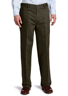 Dockers Men's Comfort Khaki Relaxed-Fit Flat-Front Pant Bark - discontinued