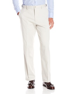 Dockers Men's Comfort Khaki Stretch Relaxed-Fit Flat-Front Pant