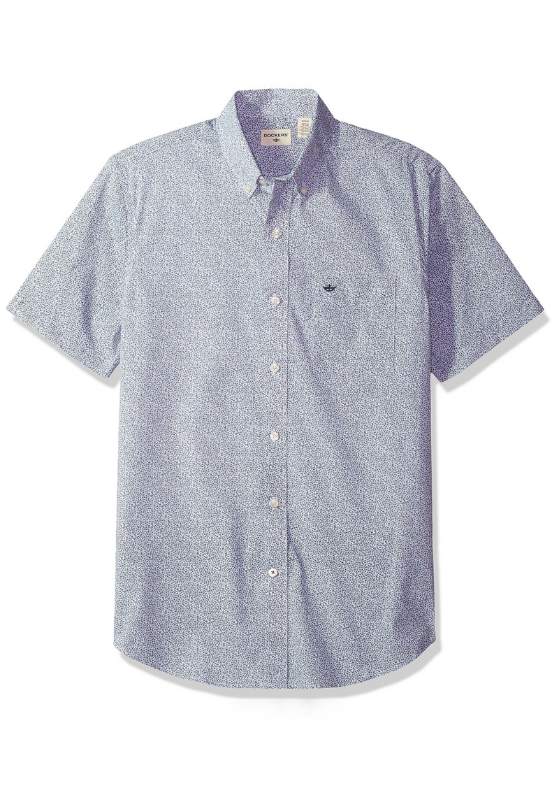 Dockers dockers men 39 s comfort stretch soft no wrinkle for Dockers wrinkle free shirts