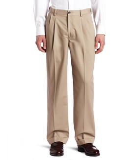 Dockers Men's Comfort-Waist Pleated Khaki Pant New British Khaki - discontinued