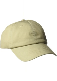 Dockers Men's Core Tonal Embroidered Logo Dad Baseball Hat Off- Off-White/Khaki