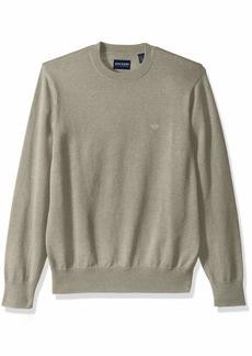 Dockers Men's Cotton Crewneck Long Sleeve Sweater  2X-Large