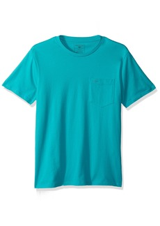 Dockers Men's Crewneck Pocket Short Sleeve T-Shirt  XL