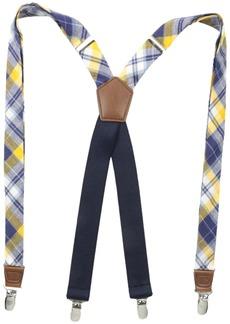 Dockers Men's 1 Inch Plaid Suspenders