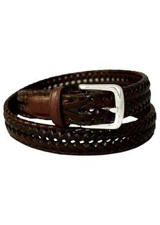 Dockers Men's Dockers 32mm Woven Leather Belt