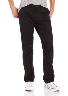 Dockers Men's Docker's Men's Alpha Khaki Core Standard Tapered Flat Front Fit Pant Black - discontinued