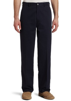Dockers Men's Docker's Men's Comfort Khaki D3 Classic Fit Flat Front Pant Navy - discontinued