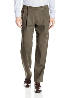 Dockers Men's Easy Khaki Classic Fit Pant-Pleated D3 Dark Pebble 40 30