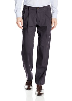 Dockers Men's Easy Khaki Classic Fit Pant-Pleated D3 Navy 36 30
