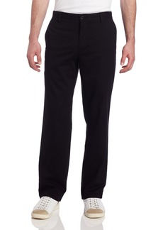 Dockers Men's Easy Khaki D2 Straight-Fit Flat-Front Pant  Black